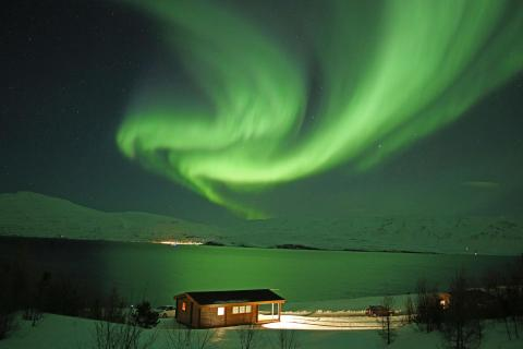 Aurora Iceland, Cozy Cottage 66°