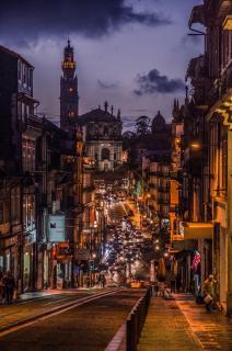 Blick auf den Torre dos Clerigos -Porto