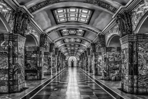 Metrostation in Sankt Petersburg
