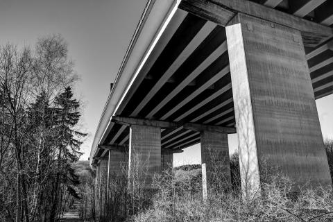 Autobahnbrücke bei Nonnweiler