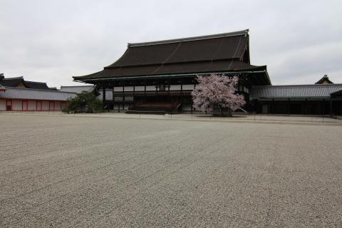 Shishin den main hall
