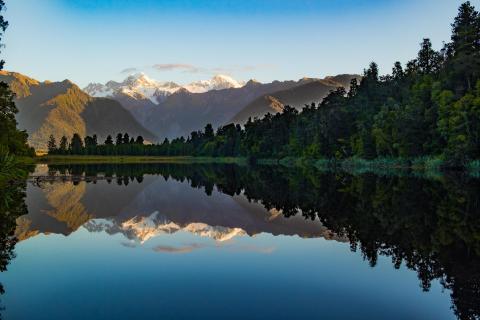 Lake Matheson - der Spiegelsee