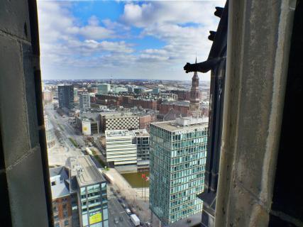 Blick von St. Nikolai (Hamburg)