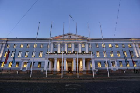 Blaue Stunde Helsinki