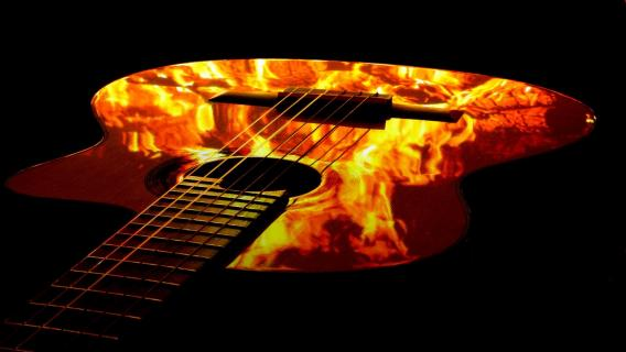 Lagerfeuer 2 - Musik hat Pause