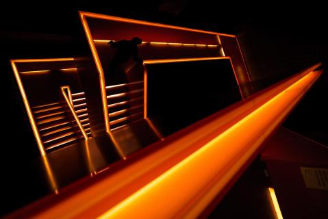 Red Light Stairs