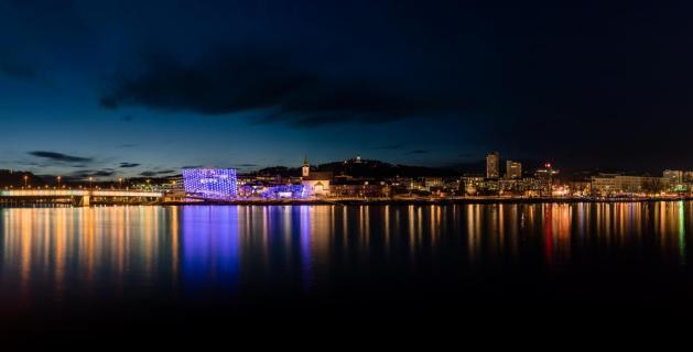 Linz bei Nacht!