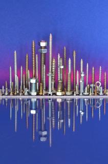Schrauben-Skyline