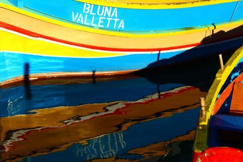 Maltesisches Fischerboot
