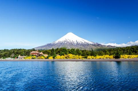 Osorno volcano and Llanquihue Lake