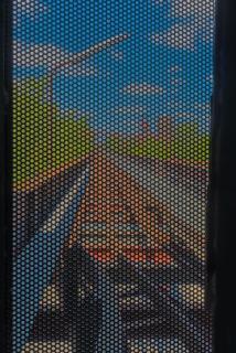 Kokerei Zollverein - Blick nach draußen