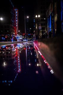 Lichterspiel in Chicago