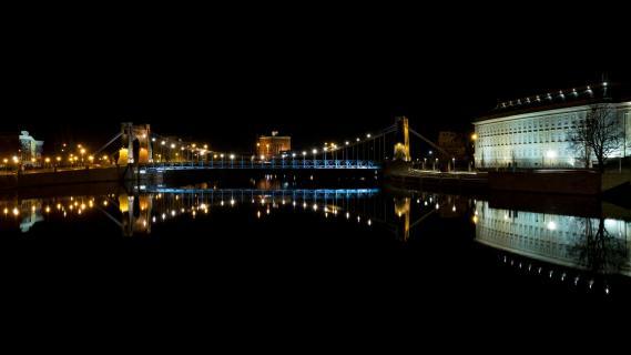 Oderbrücke in Wroclaw