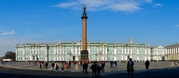 Winterpalais mit Schlossplatz