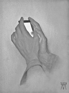 Tippende Hände