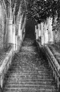 Treppe auf Capri