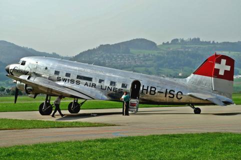 DC3 Swissair HB ISC