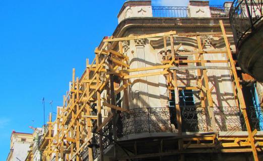 Aufbau in Havanna, Kuba!