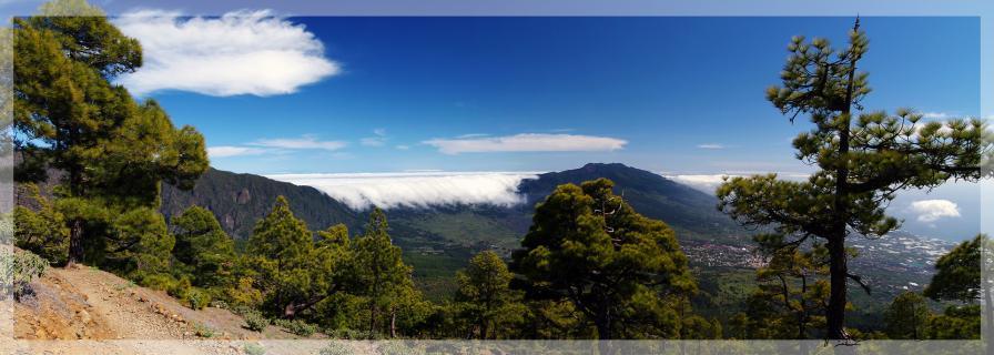 La Palma Wolkenwasserfall