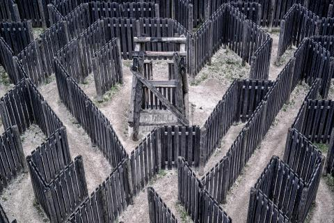 Labyrinth verwirrt wirklich.