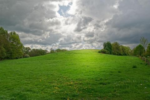 Hügellandschaft Kalletal