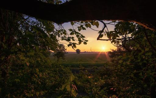 von Agathenburg ins Moor Agatenburg