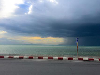 Koh Samui Gewitter Hafen