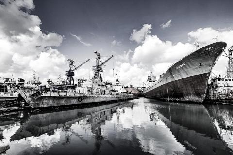 Malta Hafen Valleta Schiff