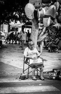 Markt und Mensch auf Mallorca