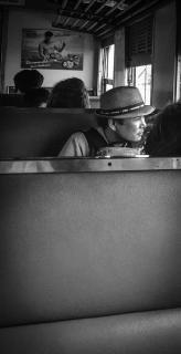 Thailand Zug Reisender
