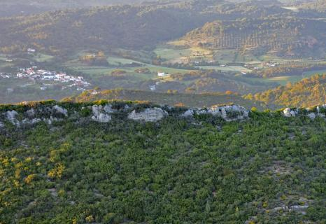 Blick vom Castell in Palmella