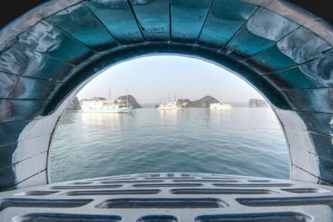 Halong Bay Ausblick
