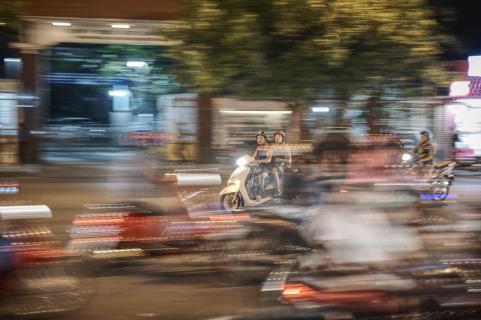 Saigon, durch die Nacht
