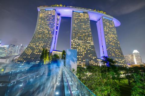 Marina Bay Sands Complex, Singapur