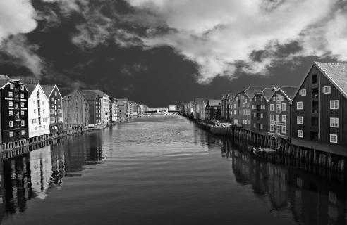 Altstadt von Trondheim