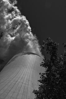 Unter Dampf Kohlekraftwerk