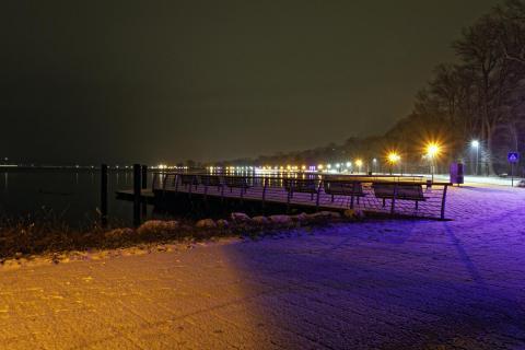 Nachts in Heiligenhafen 3