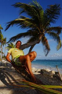 Relaxen auf der Palme
