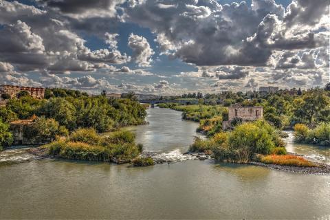 Fluss durch Cordoba
