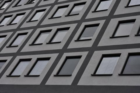 Fassadenperspektive