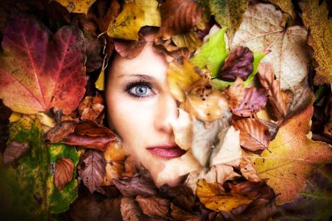 Herbstgesicht