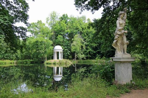Schlosspark im Sommer