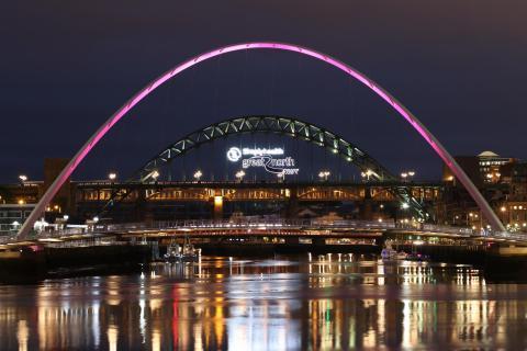 Newcastle, Millennium Bridge