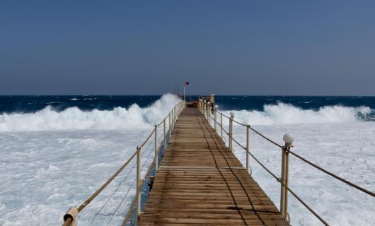 Way in the ocean