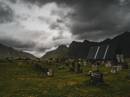 Friedhof in Falkstad