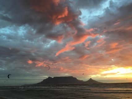 Gewitterstimmung Kapstadt