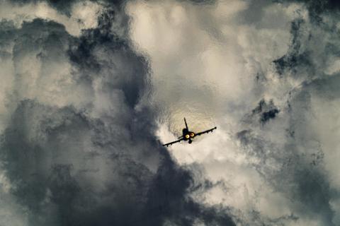 Schnell in die Wolken