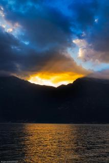 Gardasee Sonnenaufgang