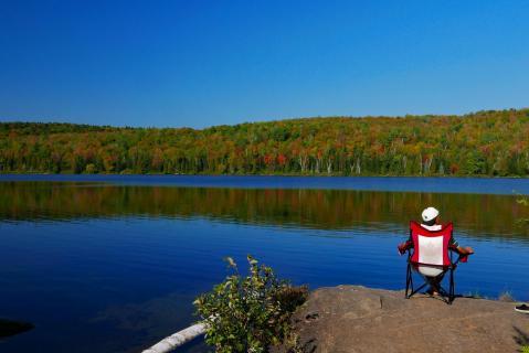 Lac Wapizagonke: die Erde gehört nicht den Menschen