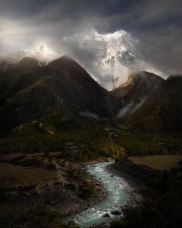 Annapurna Nepal Himalaya